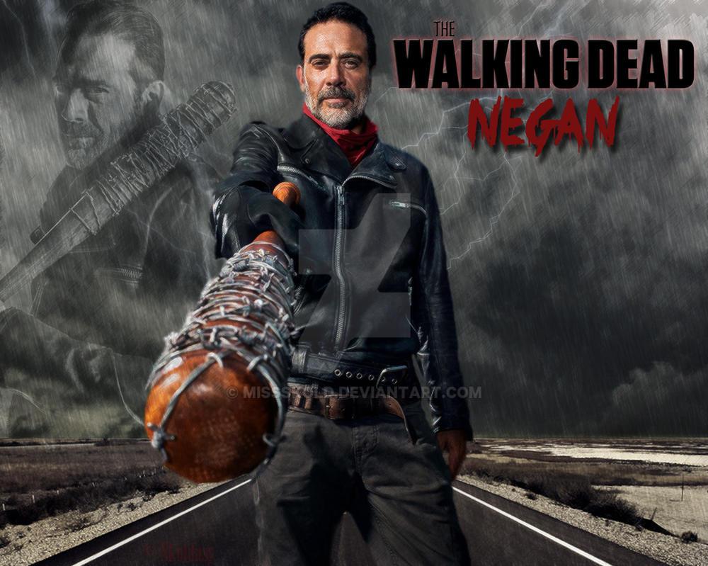 The Walking Dead Negan Wallpaper: The Walking Dead By MissSkold On DeviantArt