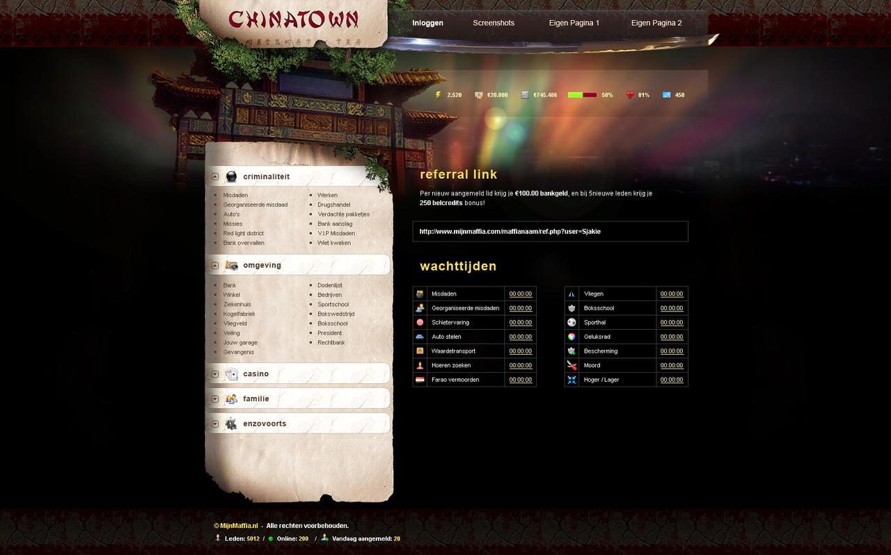 Chinatown ingame by CyXo