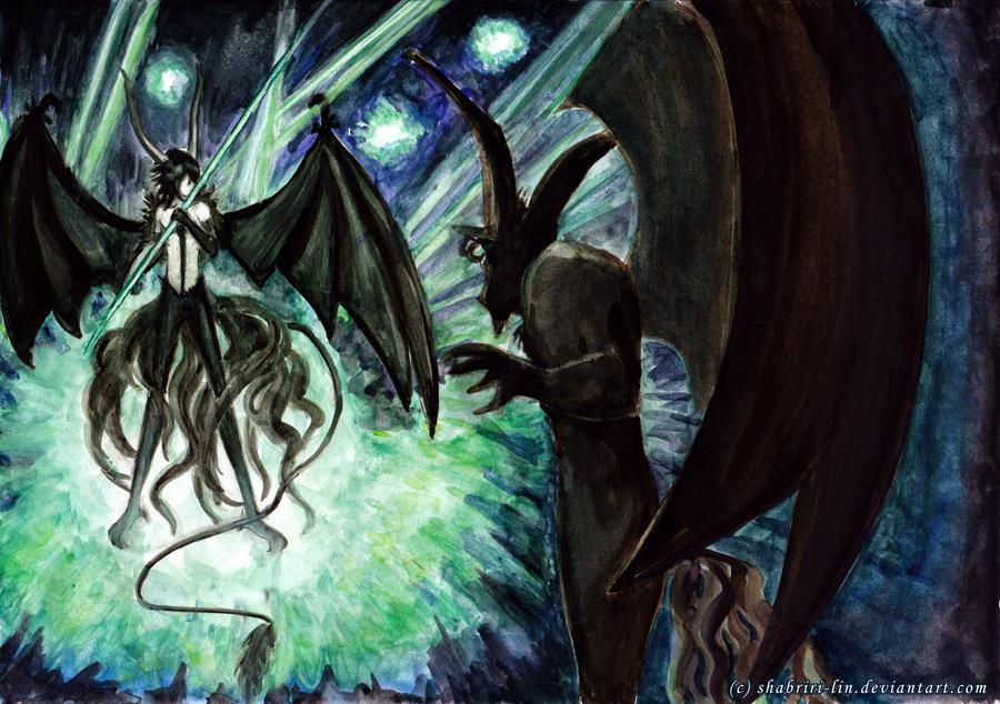 Dark Fight by Shabriri-Lin