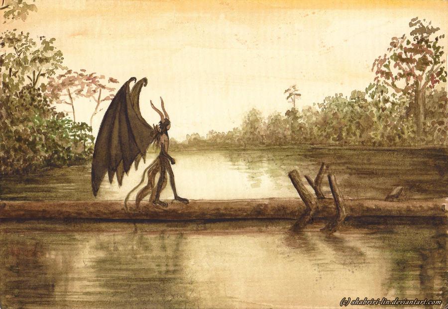 The Dark Lagoon by Shabriri-Lin
