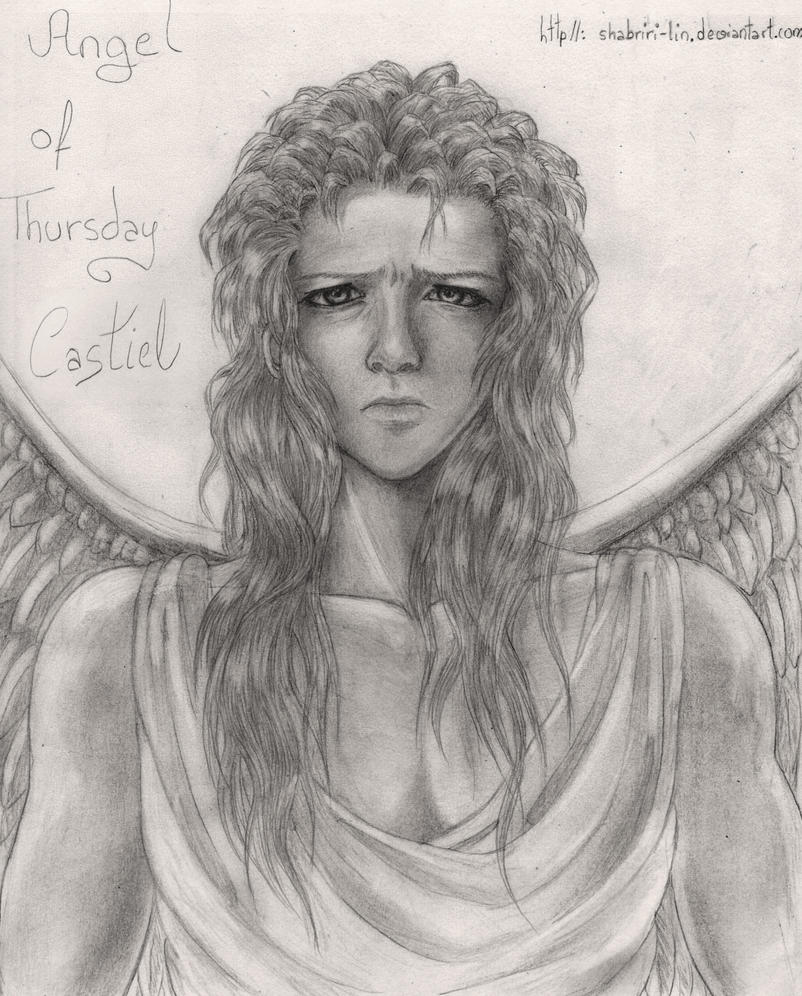 Angel Castiel's True Form by Shabriri-Lin