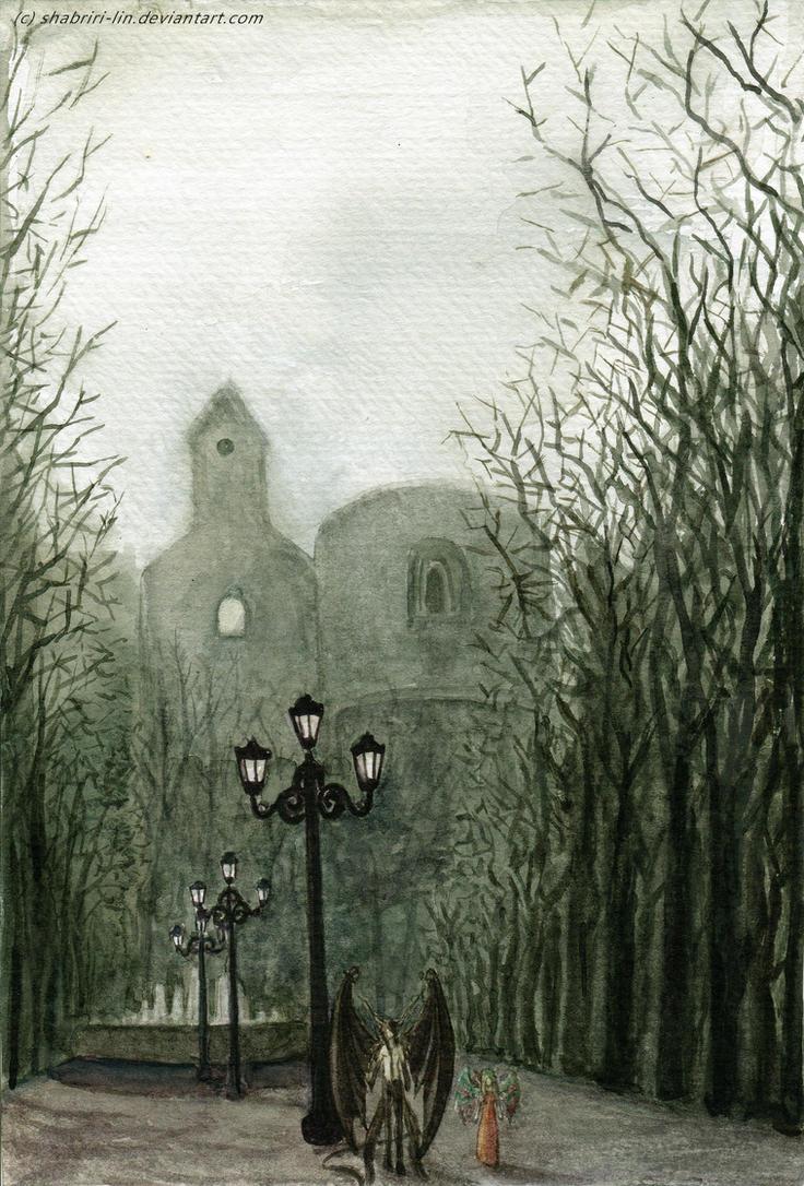 Gothic Town by Shabriri-Lin