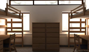 RIT Dorm Room 3D