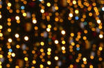 Christmas lights bokeh. by mylittlebluesky