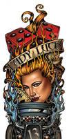 LADY LUCK for T-shirt Art