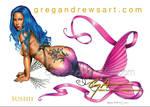 SUSHII. Fantasy mermaid by Greg Andrews