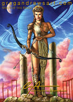 SPIRIT OF THE RINGS Fantasy Archer Greg Andrews by badass-artist