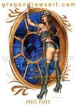 Miss Fixit Fantasy Pinup Art Greg Andrews Artist