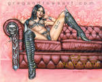 PROVOCATEUR Pinup Art Greg Andrews Artist Sexy Fan