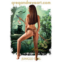 JUNGLE GIRL.