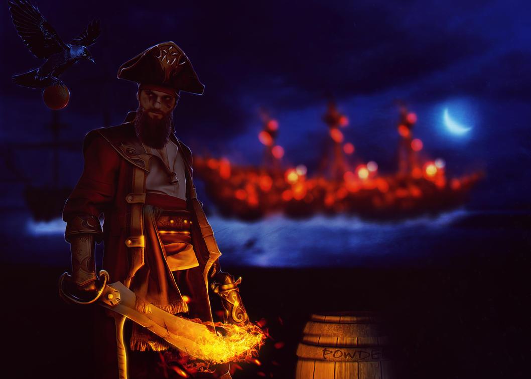 Burning Tides by ICynicI