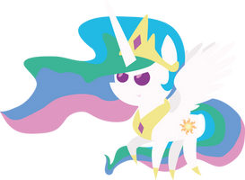 BBBFF Style Angry Celestia by TourniquetMuffin