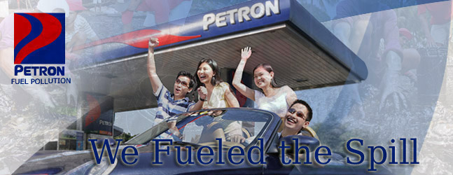 Petron Fueled the Oil Spill by m35b