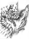 On Eagle's Wings by bannedartist
