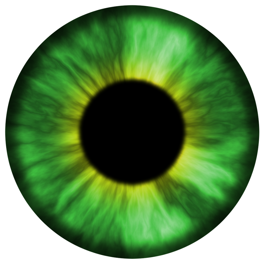 Textura olho verde / Green eye texture by AxelMuller