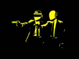 Daft Punk - Wallpaper - Inkscape 0.48.4 by AxelMuller