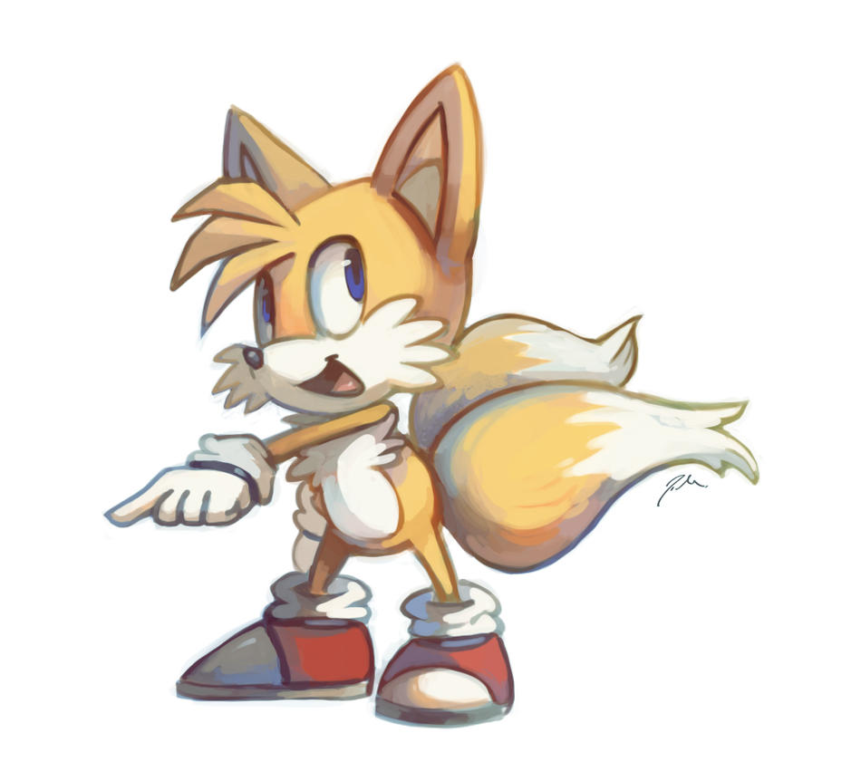 Tails by bluekomadori