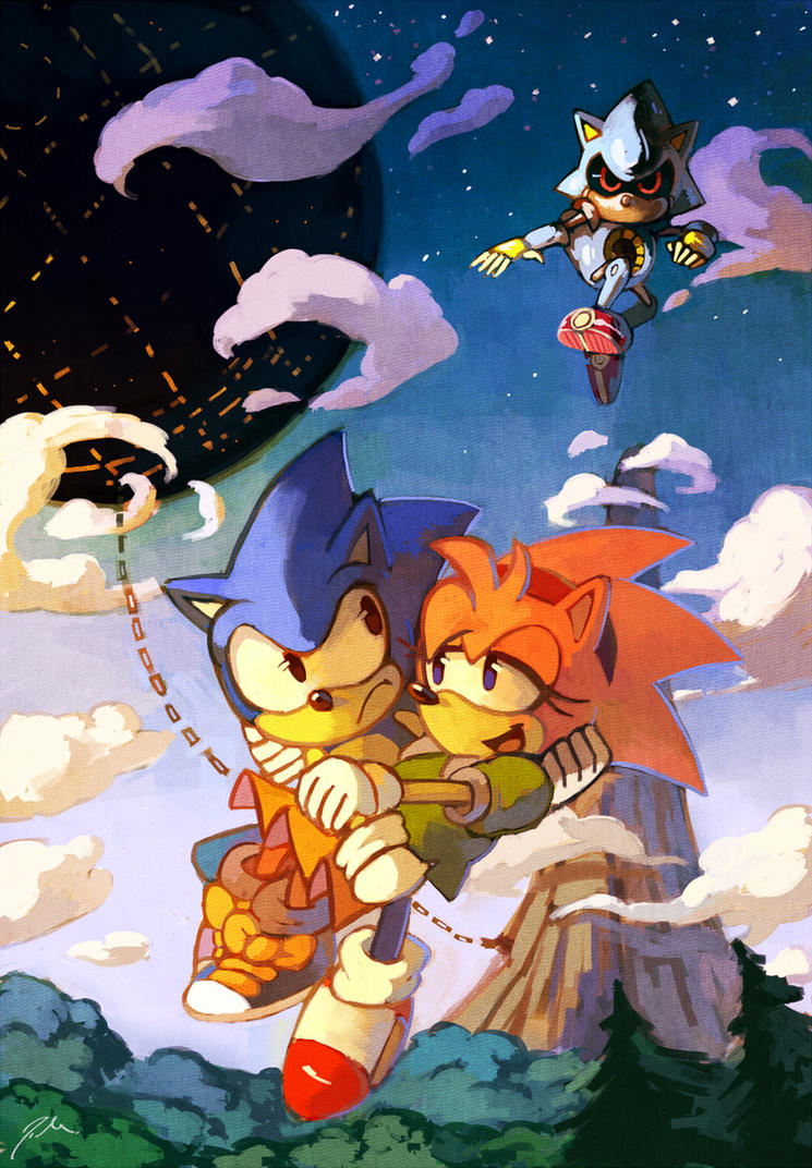 Sonic CD by bluekomadori