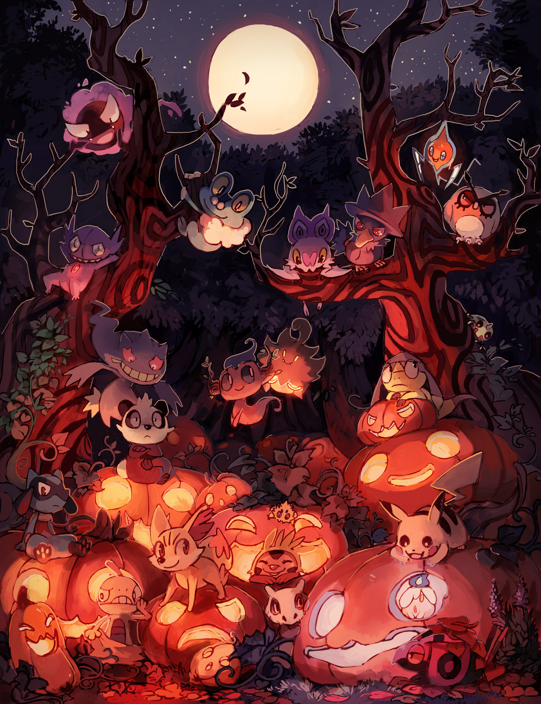 Halloween by bluekomadori