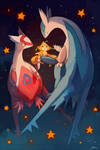 Eon dragons and Jirachi