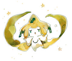 Jirachi by bluekomadori