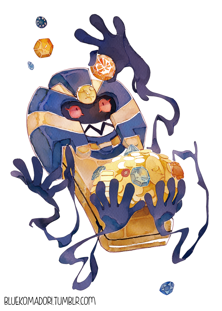Cofagrigus gijinka