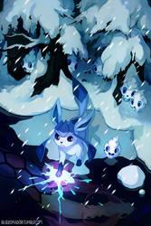 Glaceon by bluekomadori