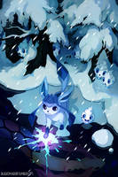 Glaceon by bluekomadori