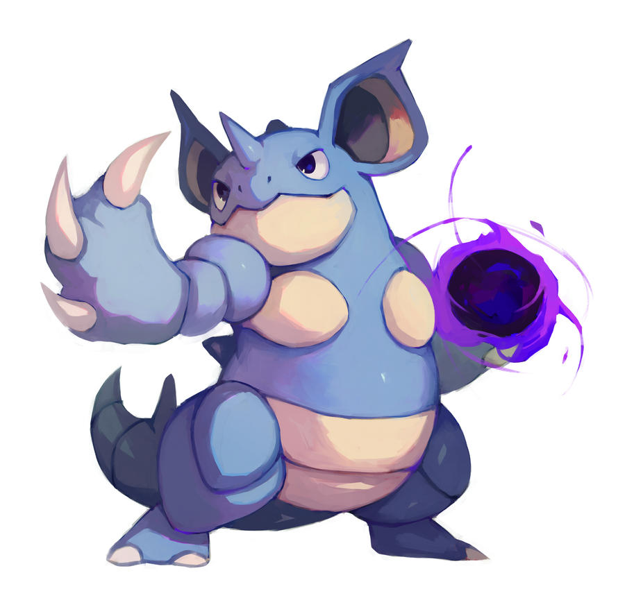 Nidoqueen by bluekomadori on DeviantArt