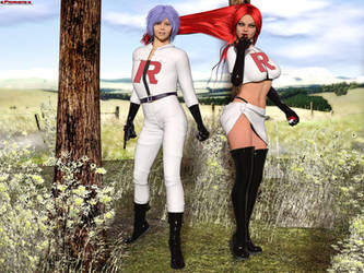 The Team Rocket ( Jessy and James ) by Favphoto