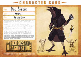 [HoD] Dog Sneeze - Character Card by Drakongeist
