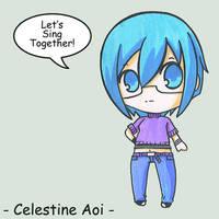 Celestine Aoi DAID by BlueValkyrie