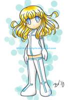 chibi ayumi by BlueValkyrie