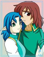 kaysa and yael by BlueValkyrie