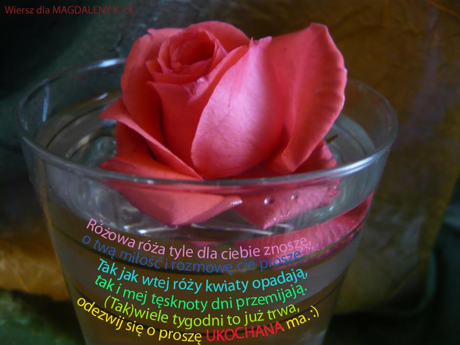 Rozowa Roza Wiersz By Unreeal On Deviantart