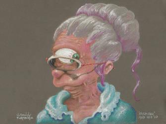 Granny Turanga by kaspired