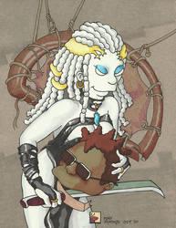 Lady Death 3 by kaspired