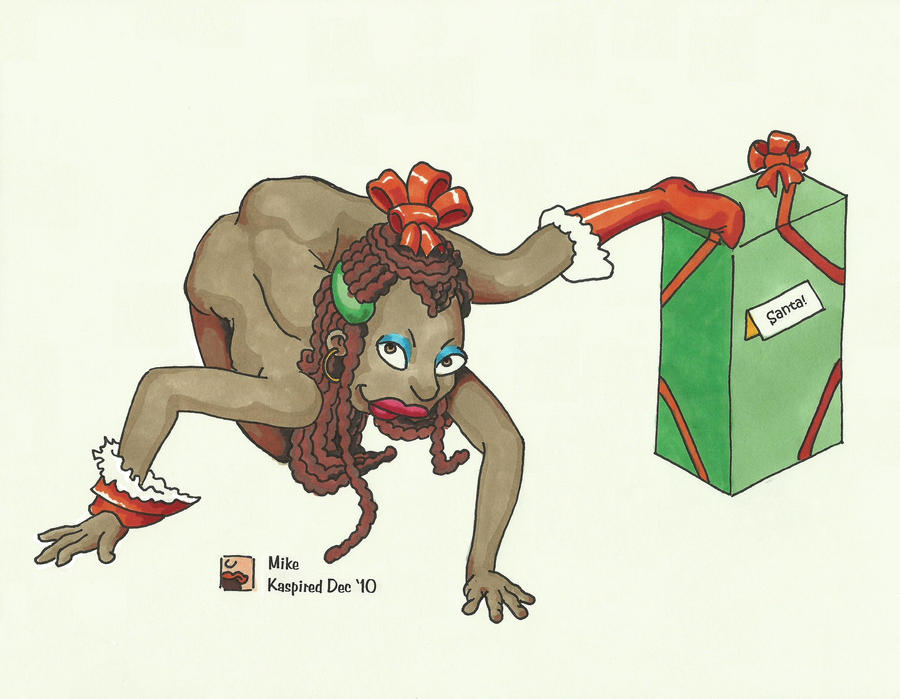Xmas Present by kaspired