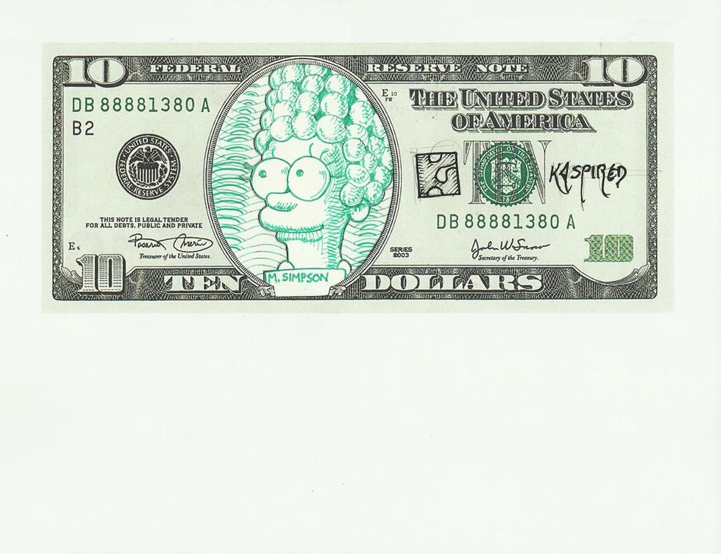 Ten Dollah Marge by kaspired