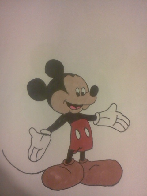 Mickey Mouse by vale4u