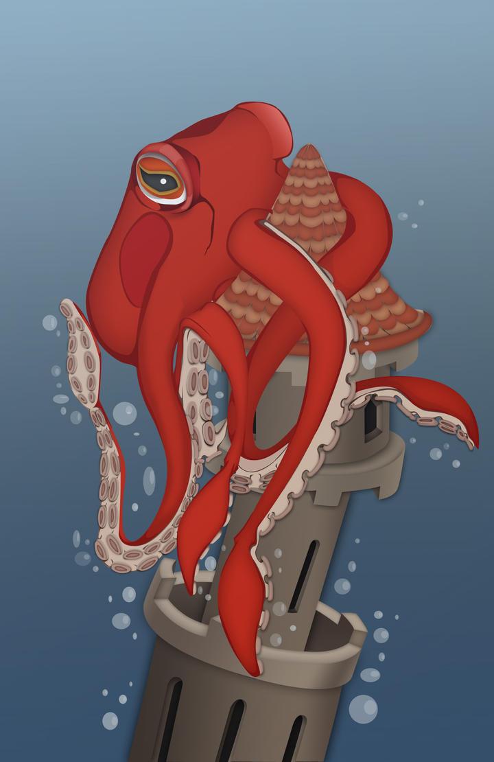 Octopus by Biekte
