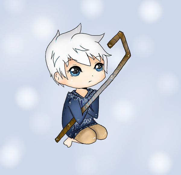 Little Jack Frost Keychain Design by xxMiniPandaxx