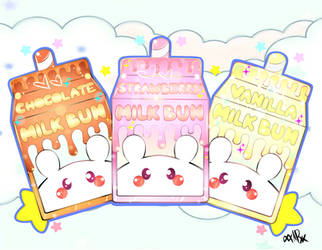 Milk Buns by xxMiniPandaxx