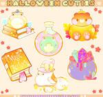 Another Halloween Cuties Sticker Sheet