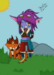 Dragon Trainer Tristana by Shintaragi