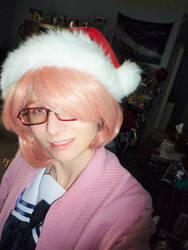 Mirai kuriyama Christmas style by brokenkaizer