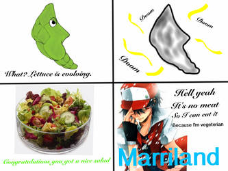 Lettuce is evolving by PokeDanny