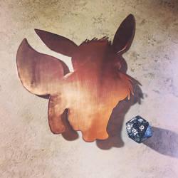 Eevee Copper Wall Art by EpicLootz