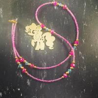 Brass Pendant My Little Pony Pinkie Pie