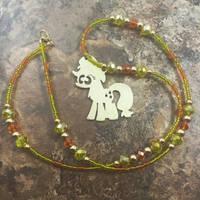 Brass Pendant My Little Pony Applejack
